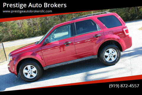 2009 Ford Escape for sale at Prestige Auto Brokers in Raleigh NC