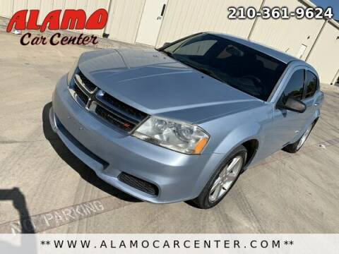 2013 Dodge Avenger for sale at Alamo Car Center in San Antonio TX