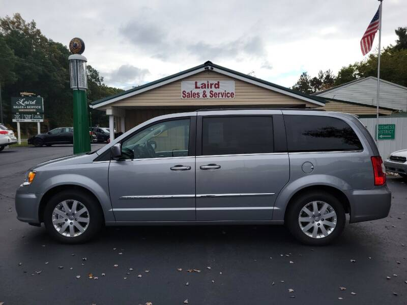 2014 Chrysler Town and Country for sale at LAIRD SALES AND SERVICE in Muskegon MI