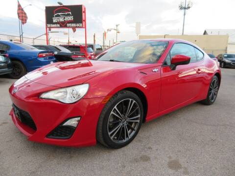 2014 Scion FR-S for sale at Moving Rides in El Paso TX