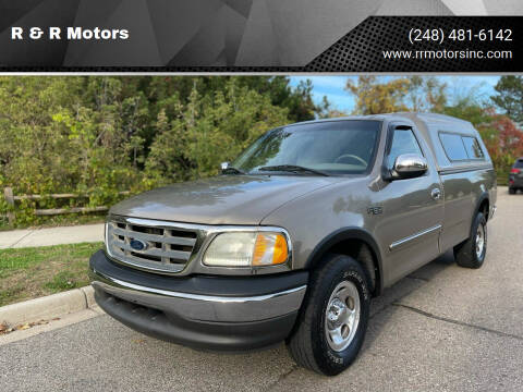 2002 Ford F-150 for sale at R & R Motors in Waterford MI