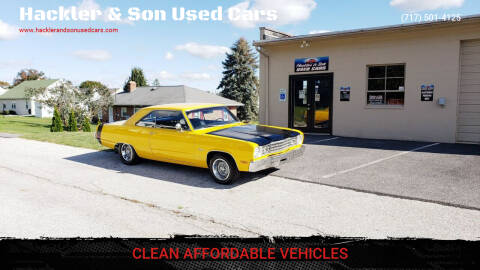 1973 Plymouth Scamp for sale at Hackler & Son Used Cars in Red Lion PA