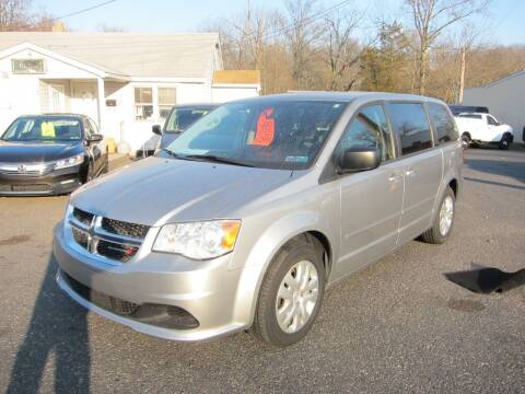 2017 Dodge Grand Caravan for sale at K & R Auto Sales,Inc in Quakertown PA