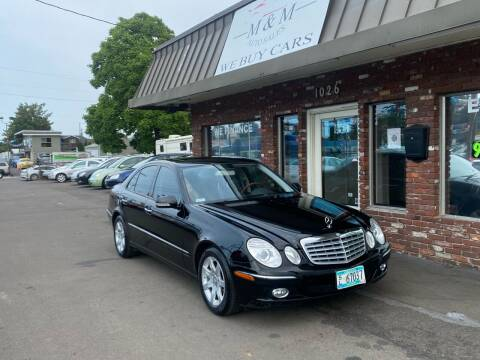 2008 Mercedes-Benz E-Class for sale at M&M Auto Sales in Portland OR