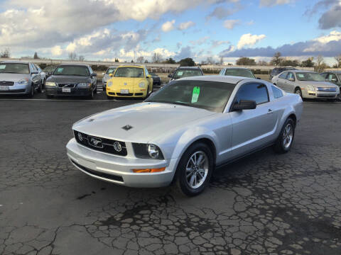 2005 Ford Mustang for sale at My Three Sons Auto Sales in Sacramento CA