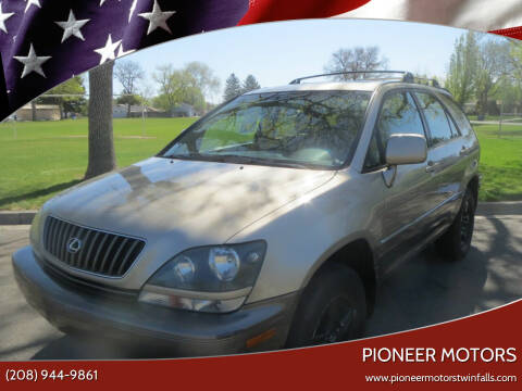 1999 Lexus RX 300 for sale at Pioneer Motors in Twin Falls ID