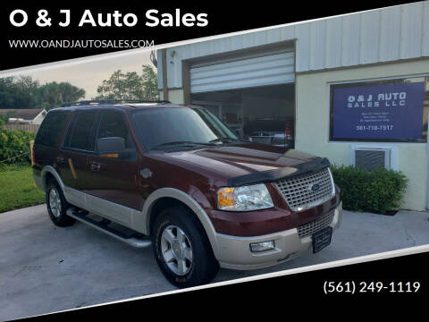 2006 Ford Expedition for sale at O & J Auto Sales in Royal Palm Beach FL