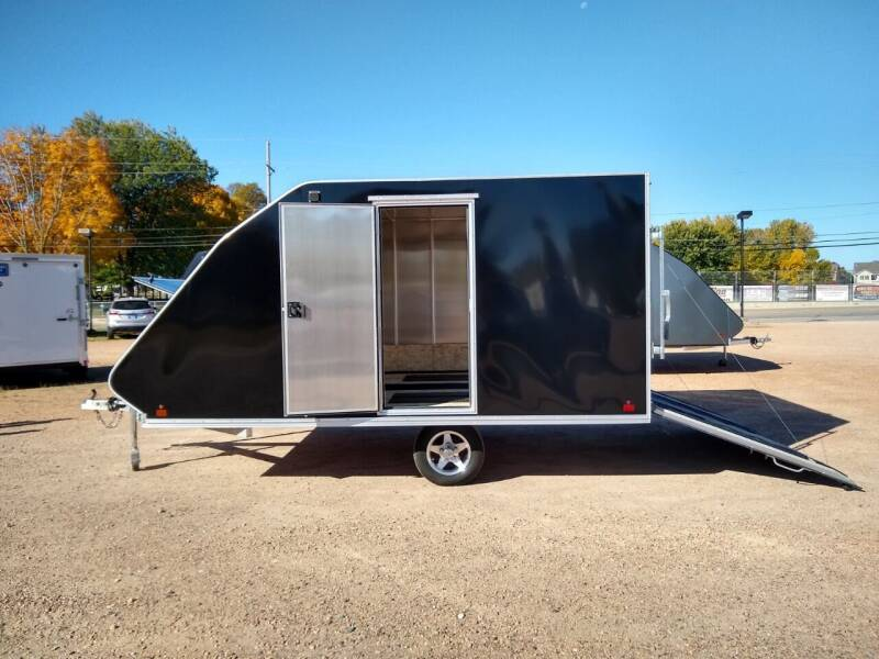 2017 Mission 101 x 12 Enclosed Snowmobile for sale at Thurk Bros Auto in St Bonifacius MN