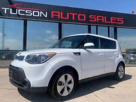 2014 Kia Soul for sale at Tucson Auto Sales in Tucson AZ