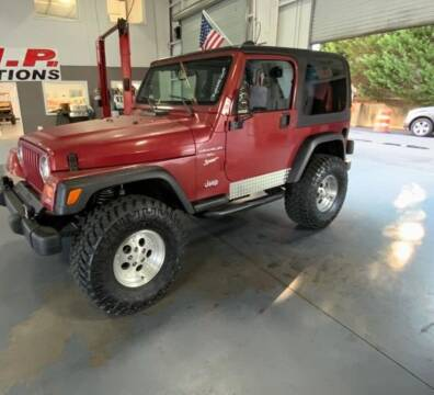 1998 Jeep Wrangler for sale at Mad Motors LLC in Gainesville GA