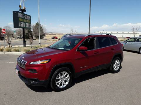 2014 Jeep Cherokee for sale at More-Skinny Used Cars in Pueblo CO