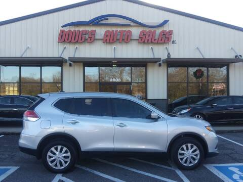 2015 Nissan Rogue for sale at DOUG'S AUTO SALES INC in Pleasant View TN
