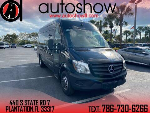 2018 Mercedes-Benz Sprinter Cab Chassis for sale at AUTOSHOW SALES & SERVICE in Plantation FL