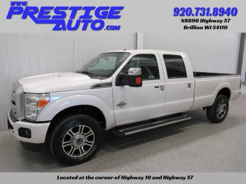 2013 Ford F-350 Super Duty for sale at Prestige Auto Sales in Brillion WI