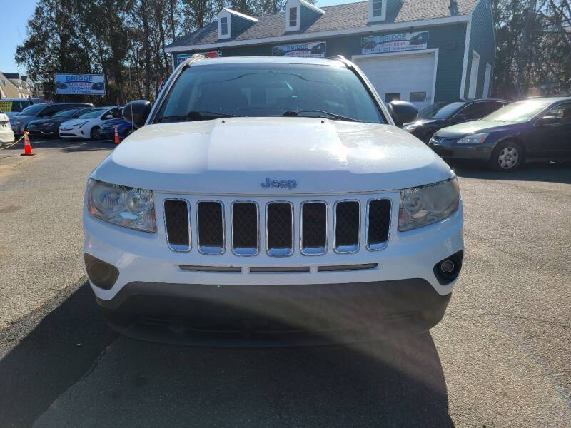 2011 Jeep Compass for sale at Bridge Auto Group Corp in Salem MA