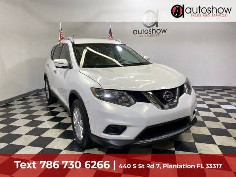 2014 Nissan Rogue for sale at AUTOSHOW SALES & SERVICE in Plantation FL