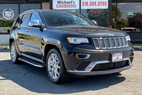 2015 Jeep Grand Cherokee for sale at Michaels Auto Plaza in East Greenbush NY
