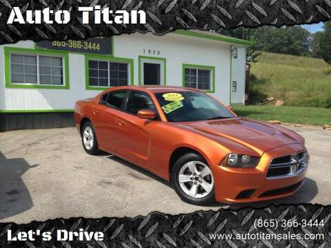 2011 Dodge Charger for sale at Auto Titan in Knoxville TN