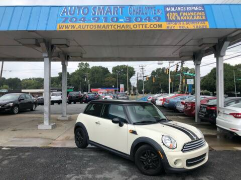 2013 MINI Hardtop for sale at Auto Smart Charlotte in Charlotte NC