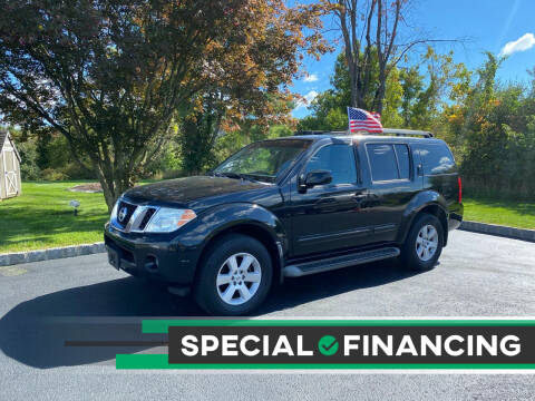 2008 Nissan Pathfinder for sale at QUALITY AUTOS in Hamburg NJ
