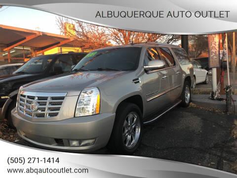 2007 Cadillac Escalade ESV for sale at ALBUQUERQUE AUTO OUTLET in Albuquerque NM