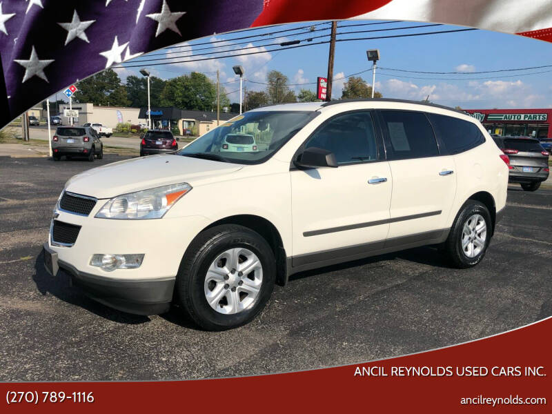 2012 Chevrolet Traverse for sale at Ancil Reynolds Used Cars Inc. in Campbellsville KY