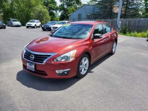 2014 Nissan Altima for sale at Excellent Autos in Amsterdam NY