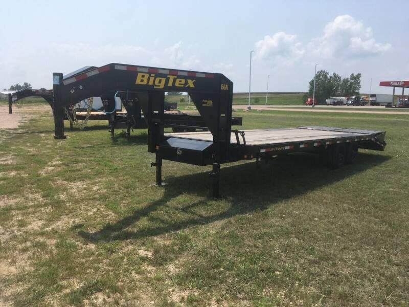 2021 Big Tex 16GN 20+5 Mega Ramps #0501 for sale at Prairie Wind Trailers, LLC in Harrisburg SD