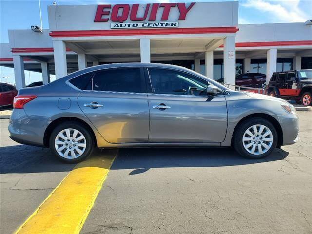 2017 Nissan Sentra for sale at EQUITY AUTO CENTER in Phoenix AZ