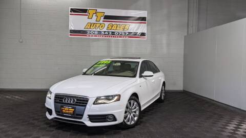 2012 Audi A4 for sale at TT Auto Sales LLC. in Boise ID