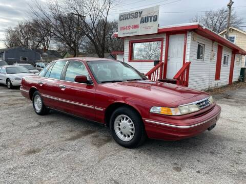 1997 Ford Crown Victoria for sale at Crosby Auto LLC in Kansas City MO