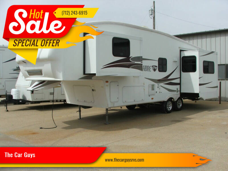 2009 Sabre 31Ft Triple Slide for sale at The Car Guys in Atlantic IA