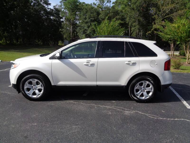 2012 Ford Edge for sale at BALKCUM AUTO INC in Wilmington NC