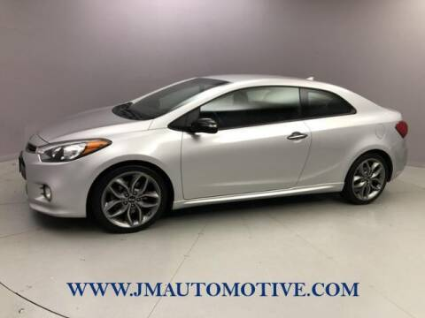 2014 Kia Forte Koup for sale at J & M Automotive in Naugatuck CT