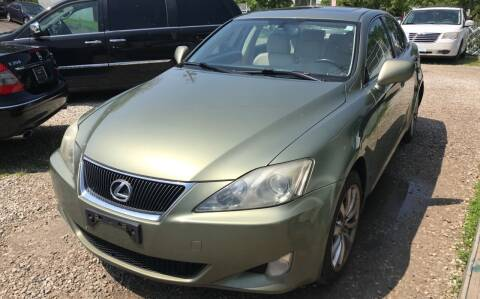 2006 Lexus IS 250 for sale at GREENLIGHT AUTO SALES in Akron OH