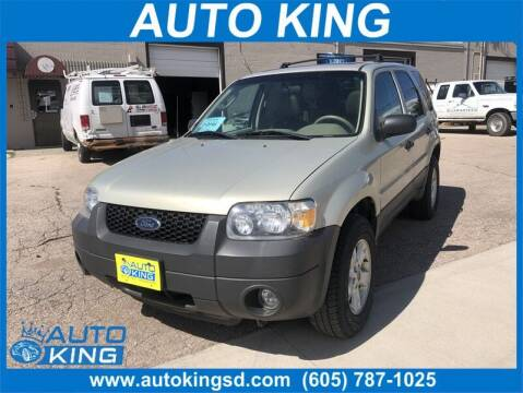 2006 Ford Escape for sale at Auto King in Rapid City SD