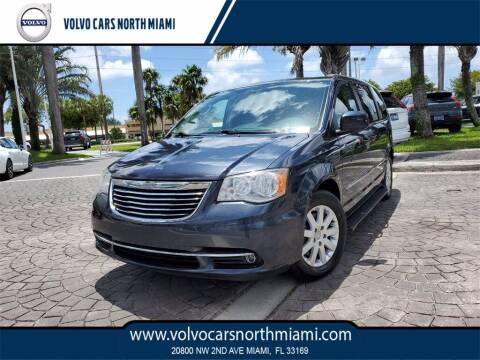 2014 Chrysler Town and Country for sale at Volvo Cars North Miami in Miami FL