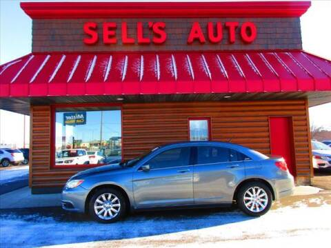 2013 Chrysler 200 for sale at Sells Auto INC in Saint Cloud MN