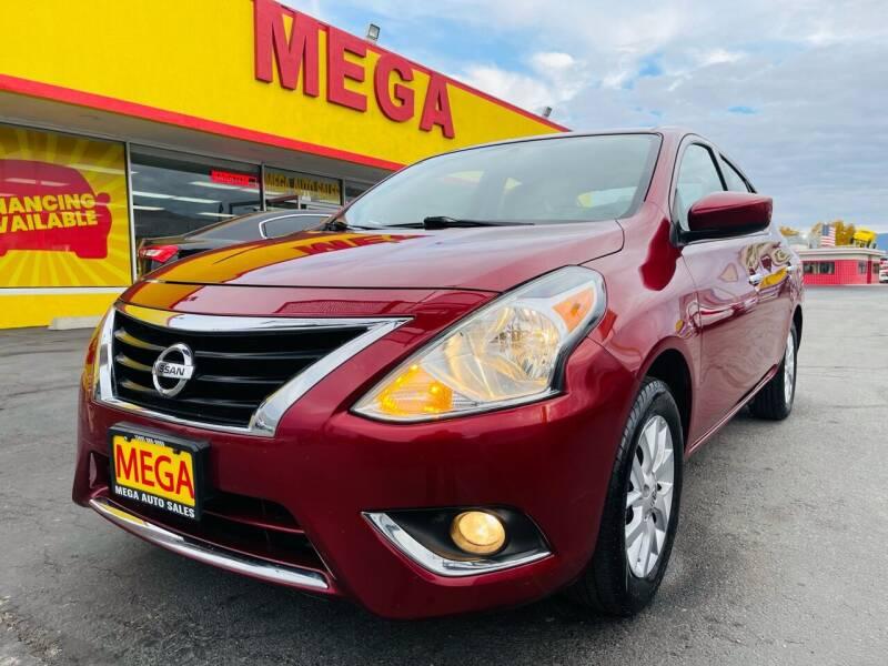 2018 Nissan Versa for sale at Mega Auto Sales in Wenatchee WA