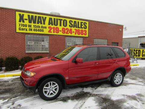 2005 BMW X5 for sale at X Way Auto Sales Inc in Gary IN