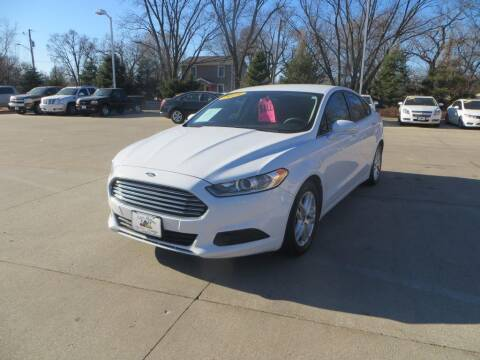 2014 Ford Fusion for sale at Aztec Motors in Des Moines IA