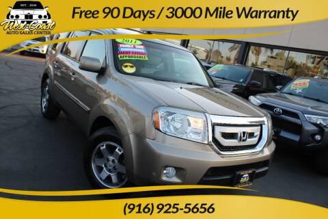 2011 Honda Pilot for sale at West Coast Auto Sales Center in Sacramento CA