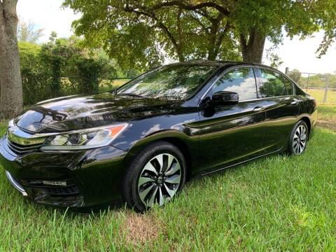 2017 Honda Accord Hybrid for sale at Top Trucks Motors in Pompano Beach FL