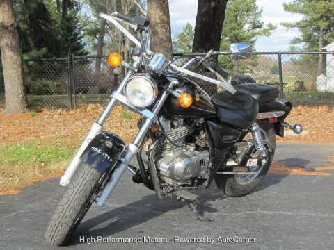2005 Suzuki GZ250 for sale at High Performance Motors in Nokesville VA