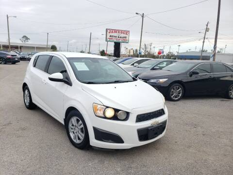 2012 Chevrolet Sonic for sale at Jamrock Auto Sales of Panama City in Panama City FL