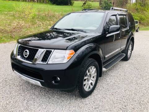 2010 Nissan Pathfinder for sale at R.A. Auto Sales in East Liverpool OH