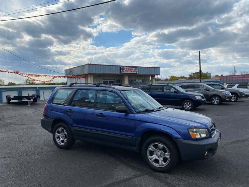 2003 Subaru Forester for sale at FIESTA MOTORS in Hagerstown MD