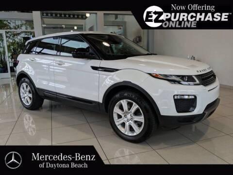 2017 Land Rover Range Rover Evoque for sale at Mercedes-Benz of Daytona Beach in Daytona Beach FL