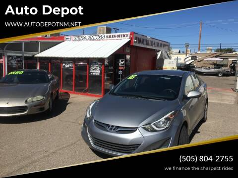 2016 Hyundai Elantra for sale at Auto Depot in Albuquerque NM