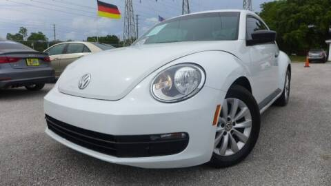 2015 Volkswagen Beetle for sale at Das Autohaus Quality Used Cars in Clearwater FL